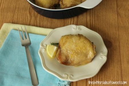 Rosemary Lemon Chicken 2