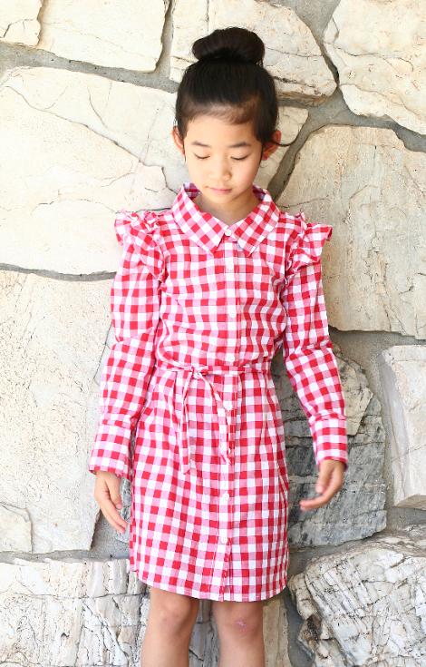 Women's XL Shrit to Girl's Dress