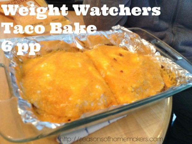 Weight Watchers Taco Bake