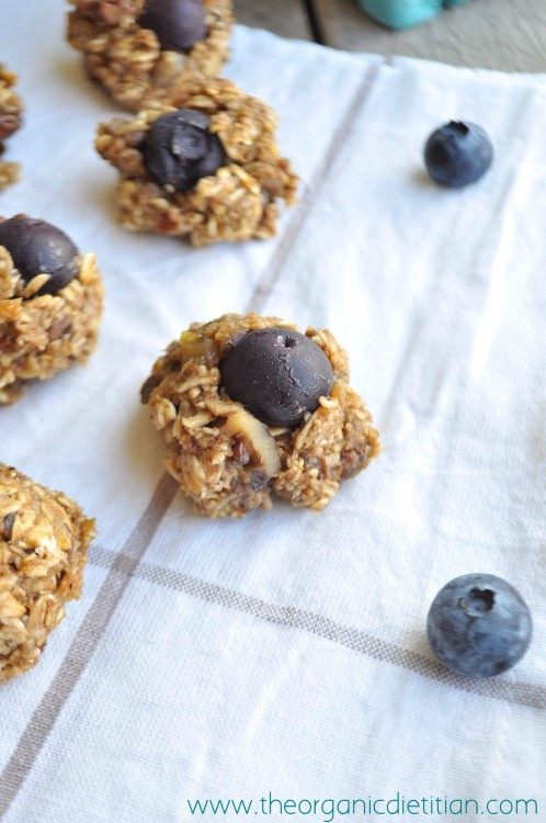 Blueberry Walnut Breakfast Cookies | White Lights on Wednesday
