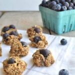 Blueberry Walnut Breakfast Cookies