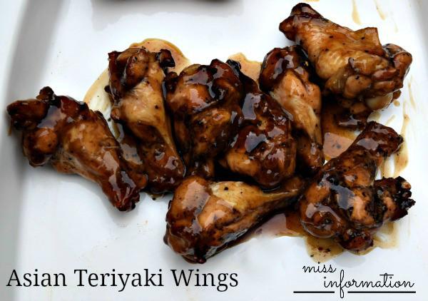 Asian Teriyaki Wings