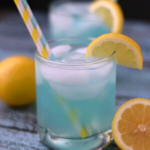 Blue Lemonade | By Cooking with Curls For White Lights on Wednesday