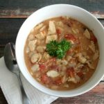 Chicken & Bacon White Chili