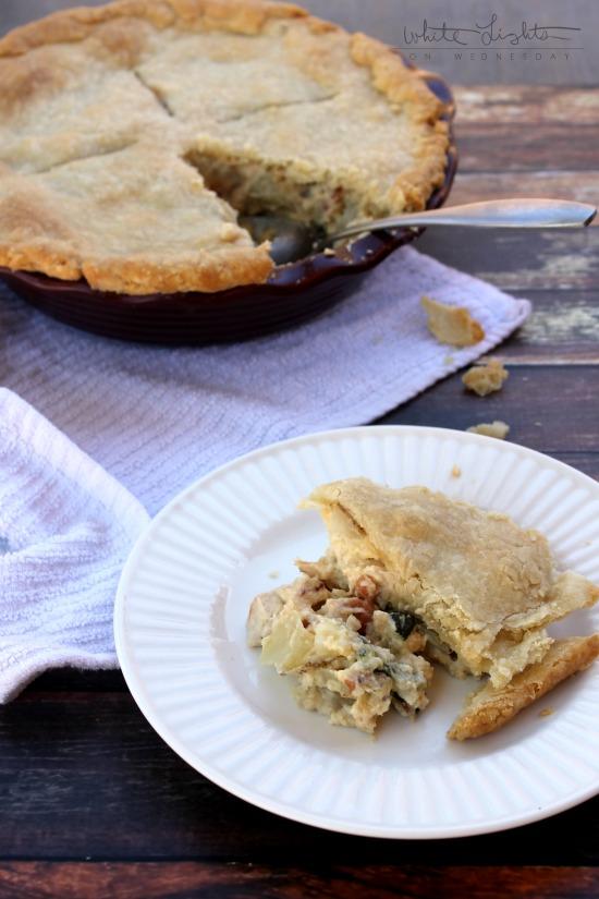 Chicken Carbonara Pot Pie 6