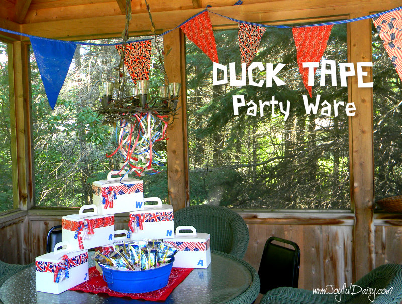 Duck Tape Party Ware