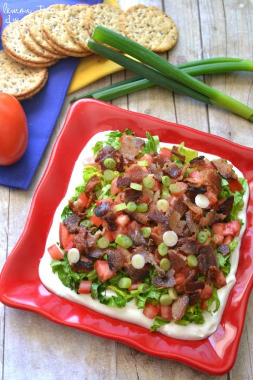 50 Delicious Dips: Easy BLT Dip