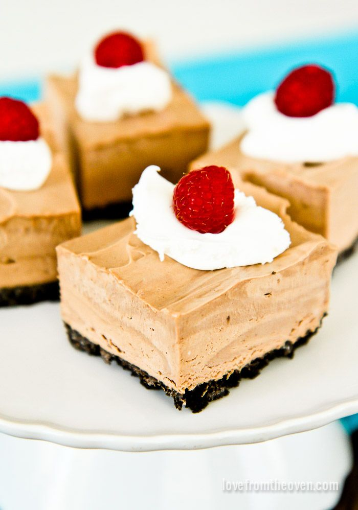 Frozen White Chocolate Grasshopper Mousse Pie Recipe — Dishmaps