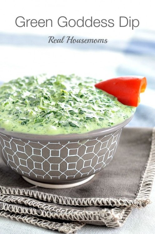 50 Delicious Dips: Green Goddess Dip