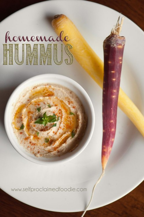 50 Delicious Dips: Homemade Hummus
