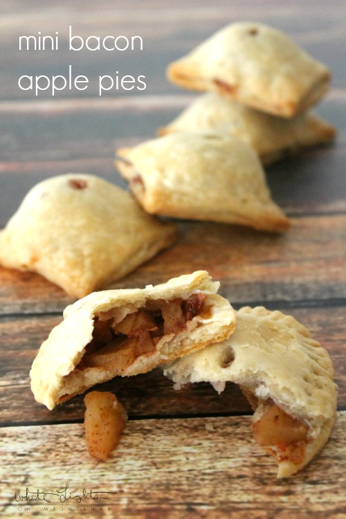 Mini Bacon Apple Pies   White Lights on Wednesday