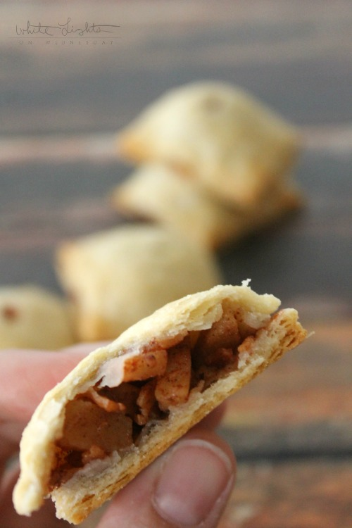 Mini Bacon Apple Pies | White Lights on Wednesday