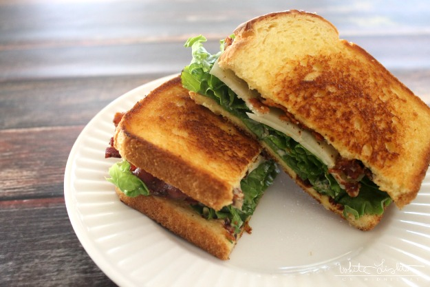 Not Your Mama's BLT | White Lights on Wednesday