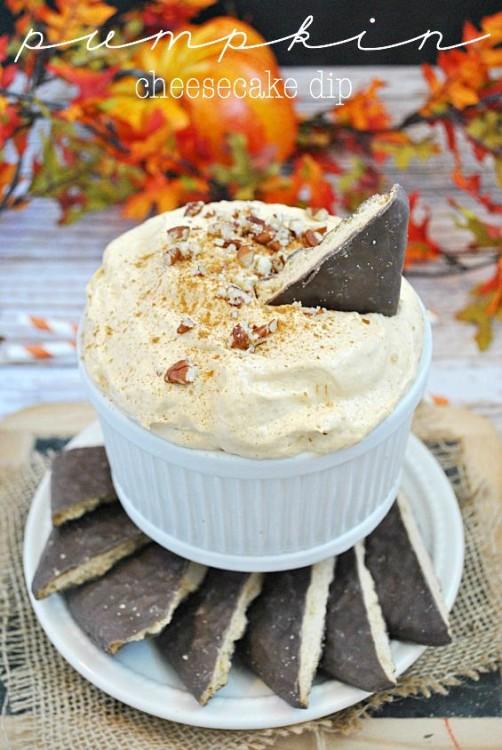 50 Delicious Dips: Pumpkin Cheesecake Dip