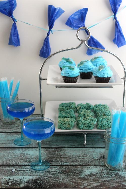 Shark Week Cupcakes 1