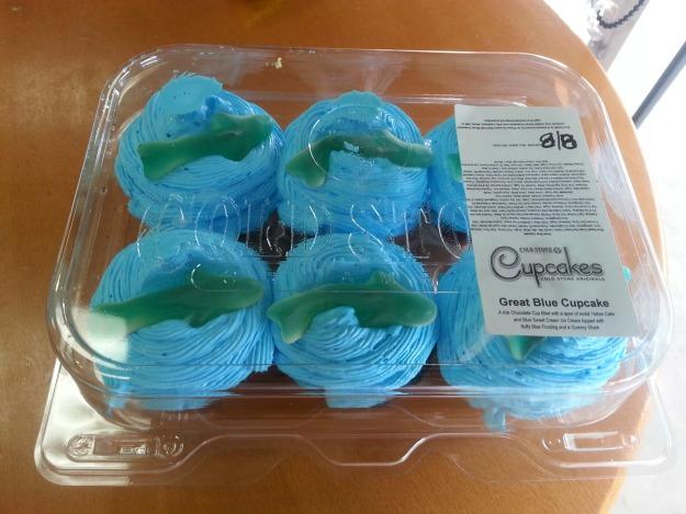 Shark Week Cupcakes 10