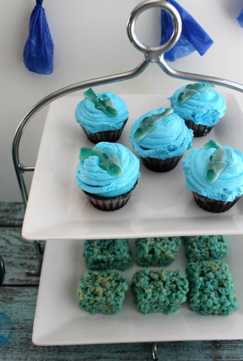 Shark Week Cupcakes 3