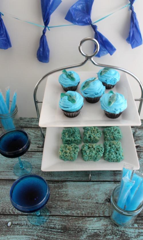 Shark Week Cupcakes 4