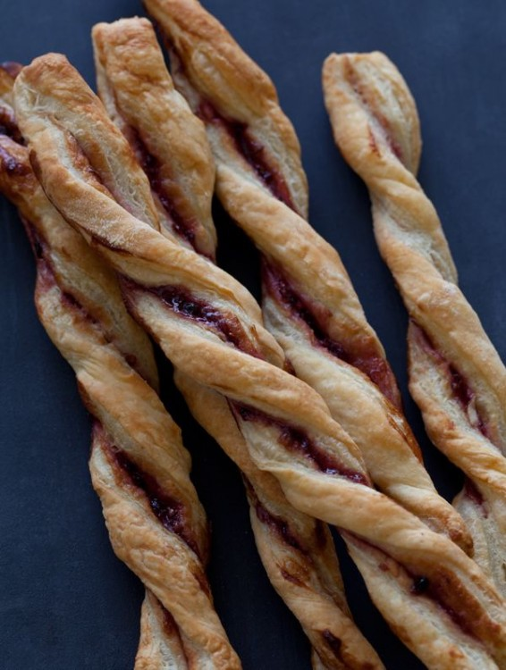 blackberry jam straws