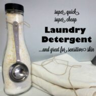 5-minute Laundry Detergent