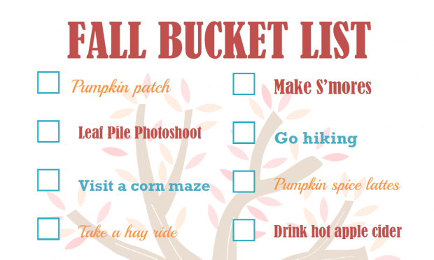 Fall Bucket List | White Lights on Wednesday