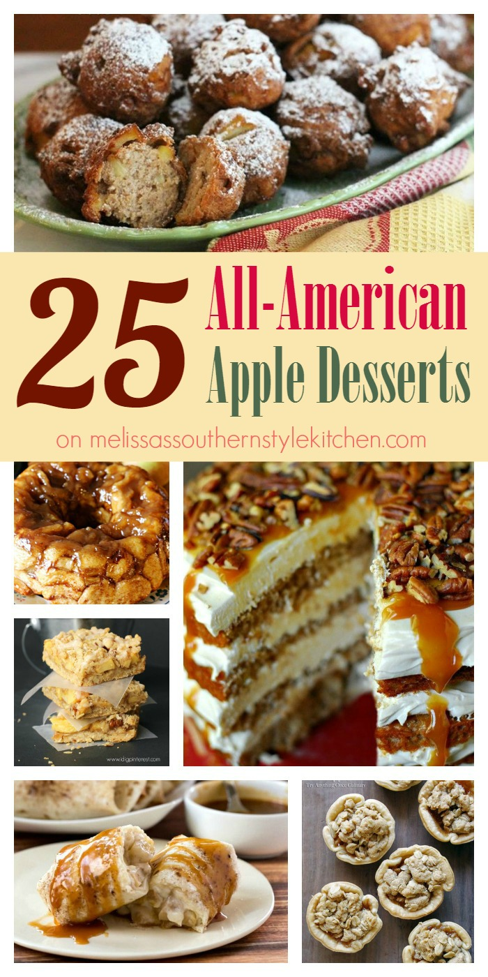 25 All-American Apple Desserts on Melissa's Southern Style Kitchen