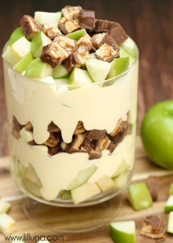 Apple Snickers Salad