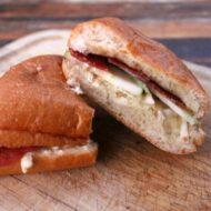 Bacon, Brie & Apple Sandwich