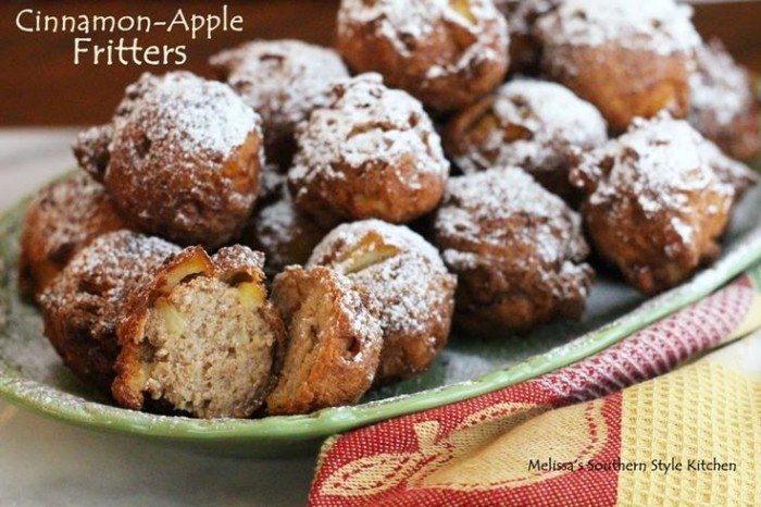 Cinnamon-Apple Fritters