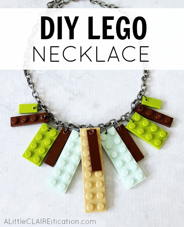 DIY Lego Necklace