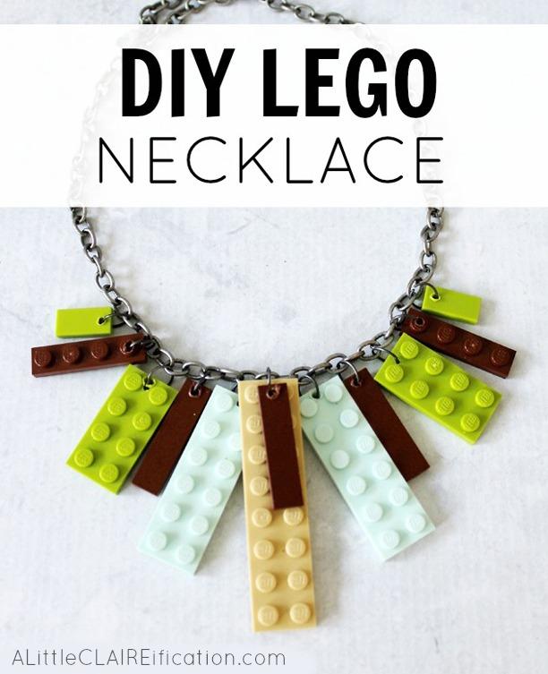 DIY Lego Necklace
