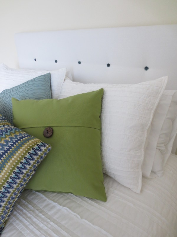 DIY Tufted Headboard | White Lights on Wednesday