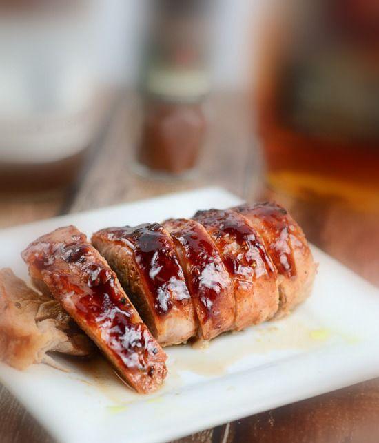 Maple Chipotle Barbecue Pork Tenderloin