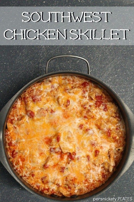 One Pot Southwest Chicken Skillet