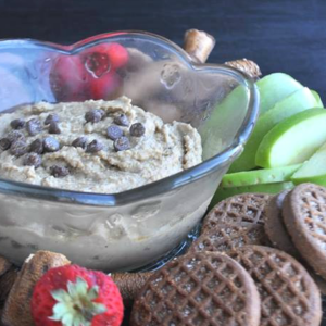 Peanut Butter Cookie Dough Hummus EFAT