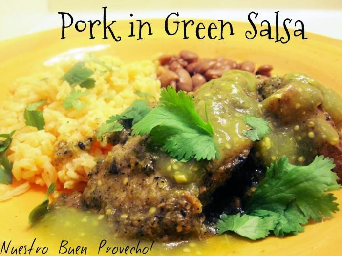 Pork in Green Salsa