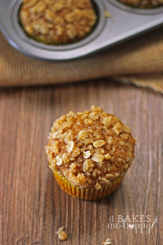 Healthy Cinnamon Pumpkin Muffins | White Lights on Wednsday