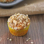 Healthy Cinnamon Pumpkin Muffins
