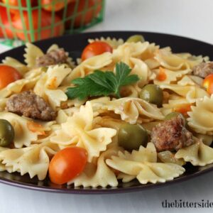 Sausage Tomato Pasta 2