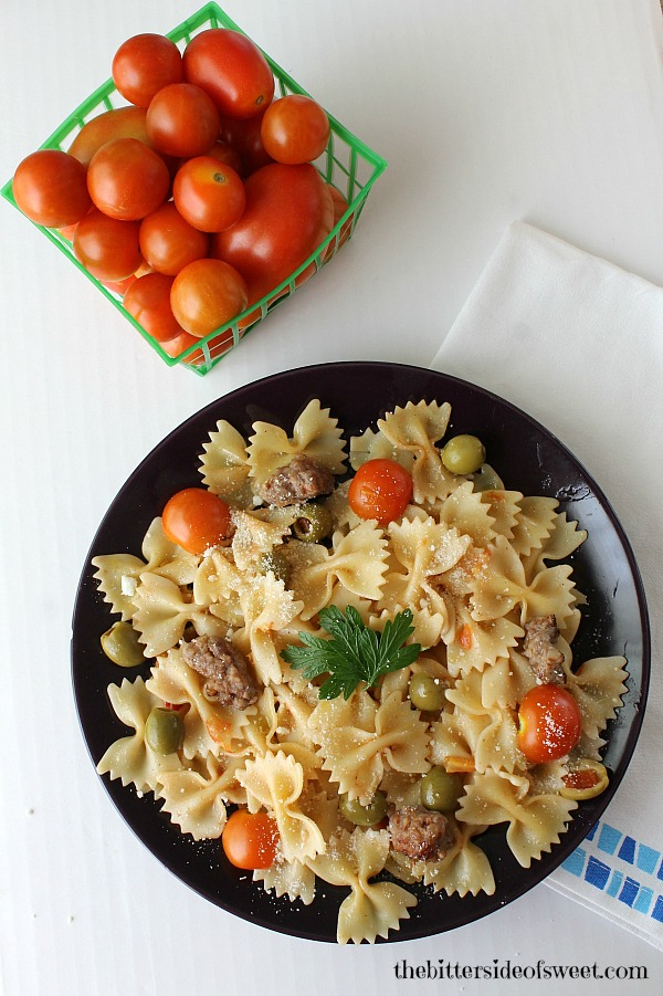 Sausage Tomato Pasta 3