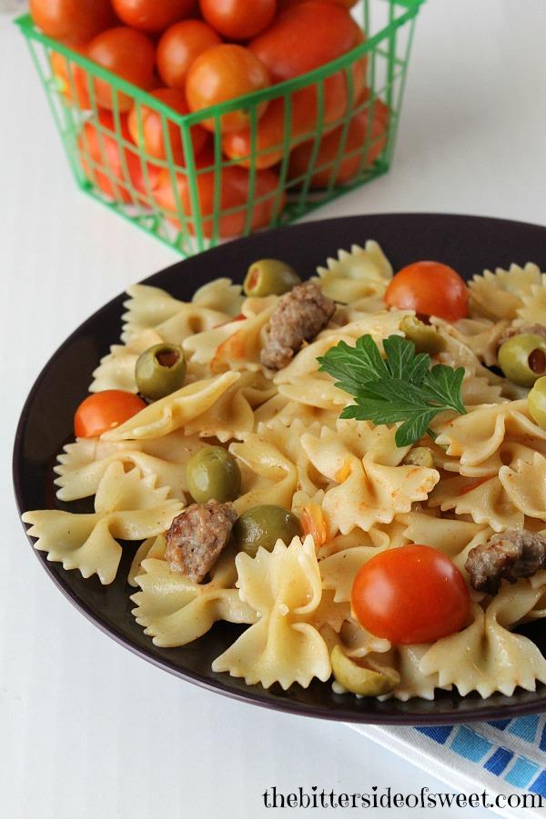 Sausage Tomato Pasta