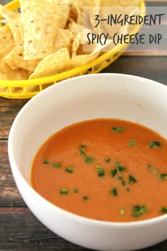 3-Ingredient Spicy Cheese Dip Hero