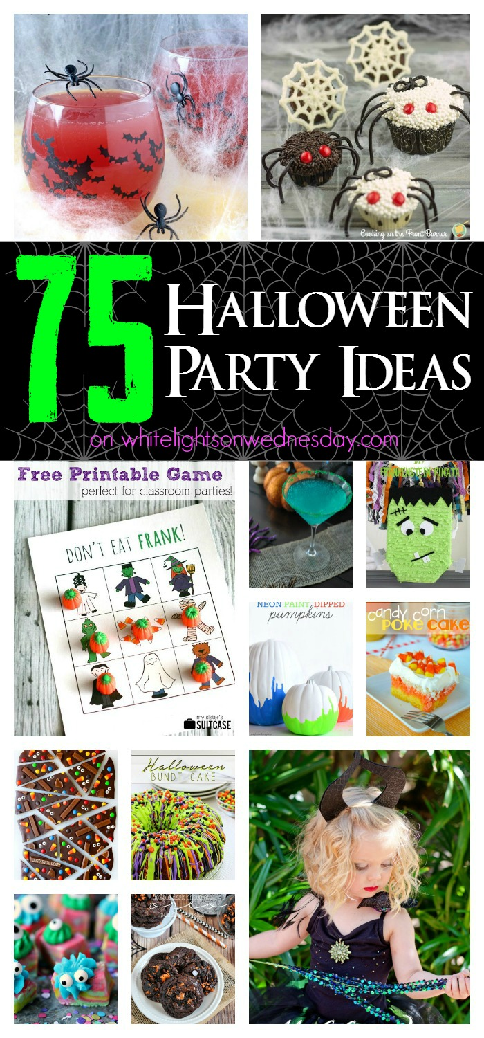 75 Halloween Party Ideas on White Lights on Wednesday