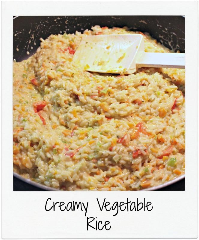 Creamy Vegetable RIce