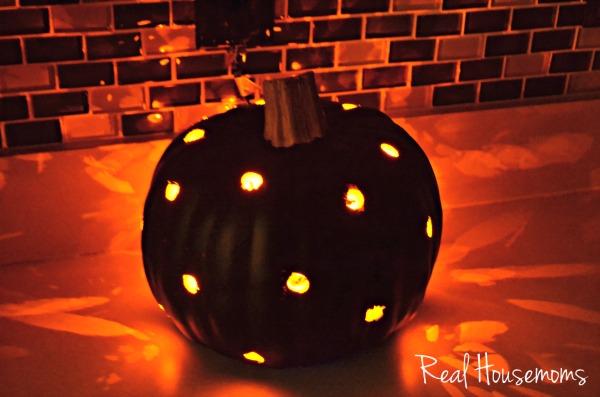 DIY Faux Pumpkin Lantern
