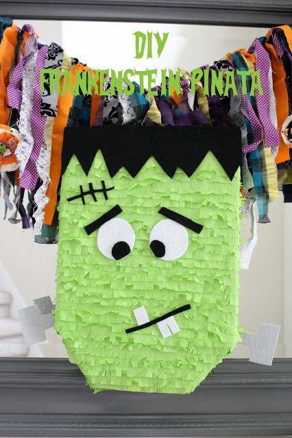 DIY Frankenstein Pinata