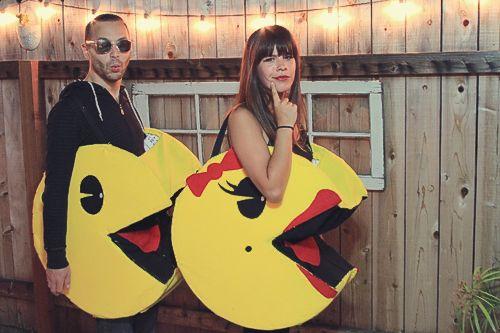 DIY Pacman & Mrs. Pacman
