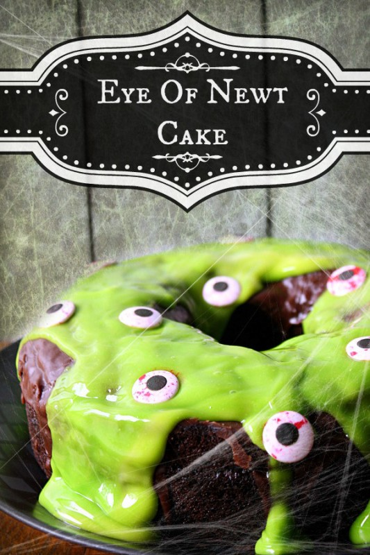 Eye of Newt Cake
