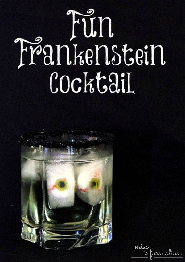 Frankenstein Halloween Cocktail