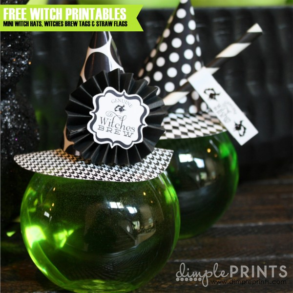 Free Witch's Brew Printables